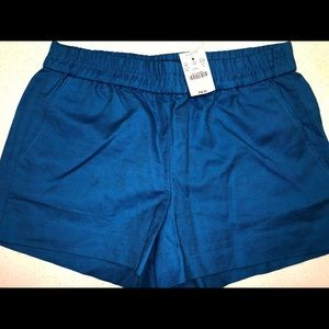Women's J.Crew linen shorts, Size 4, NWT